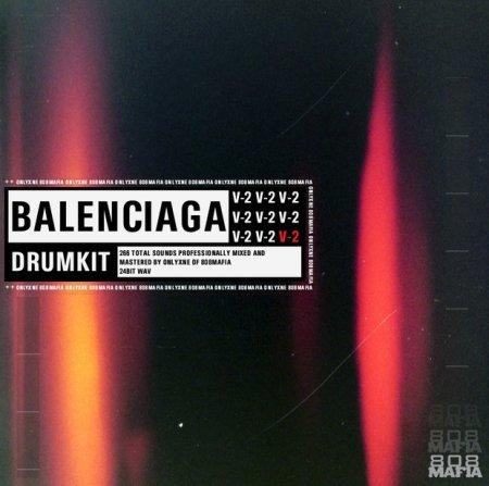 Onlyxne Of 808 Mafia Balenciaga V2 Drum Kit