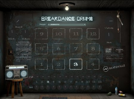 BeatSkillz Breakdance Drums v1.0 x64