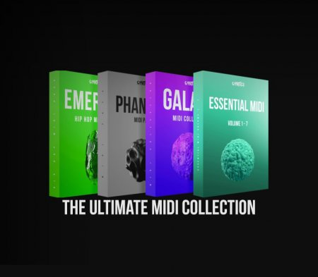 Cymatics The Ultimate MIDI Collection