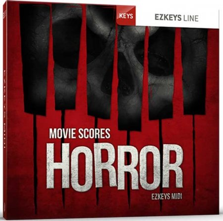 Toontrack Movie Scores Horror EZkeys MIDI