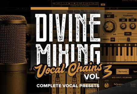 Sean Divine Productions Divine Mixing Vocal Chains V3