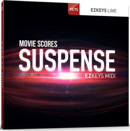Toontrack Movie Scores Suspense EZkeys MIDI