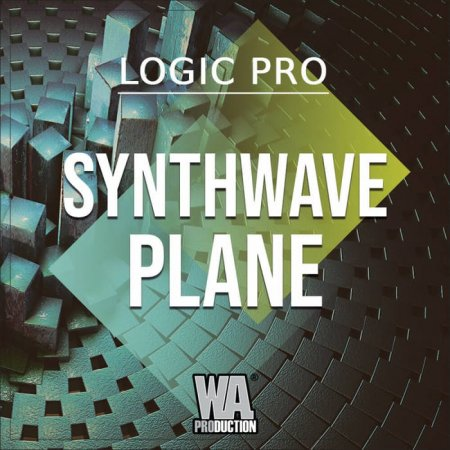 WA Production Synthwave Plane Logic Pro Template