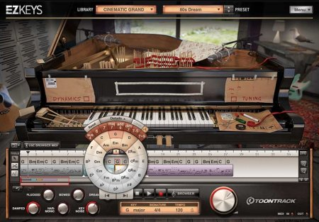 Toontrack EZkeys Cinematic Grand v1.0.0 x86 x64