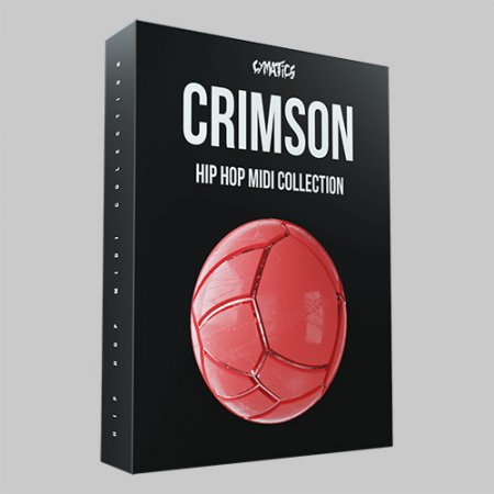 Cymatics CRIMSON Hip Hop MIDI Colletion