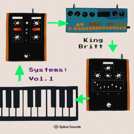 Splice Sounds King Britt presents Systems Vol 1
