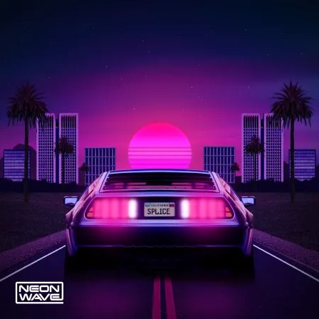Neon Wave Overdrive Serum Outrun Patches