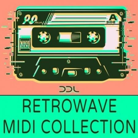 Deep Data Loops Retrowave Midi Collection