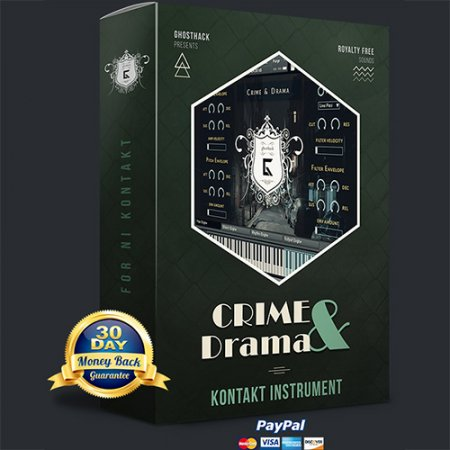 Ghosthack Sounds Crime And Drama (KONTAKT)