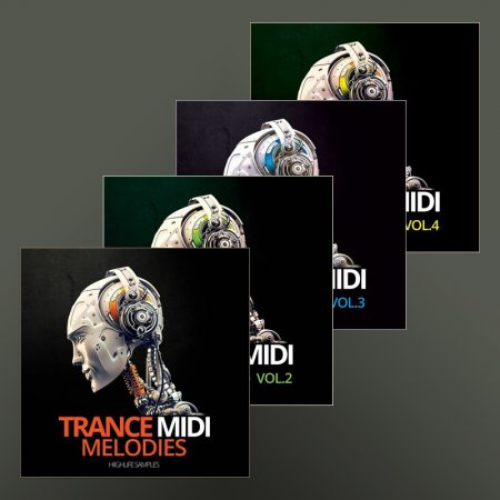 HighLife Samples Trance MIDI Melodies Vol. 1-4