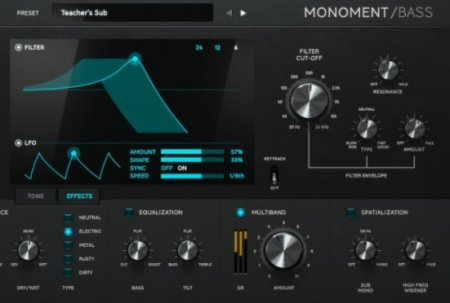 Softube Monoment Bass v2.5.9 x64