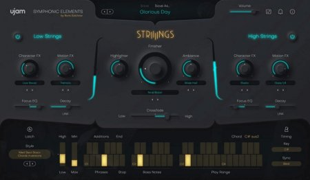 UJAM Symphonic Elements STRIIIINGS v1.0.0 x64