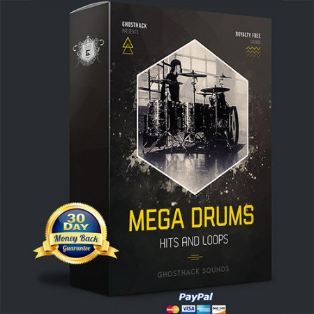 Ghosthack Mega Drums - Hits and Loops