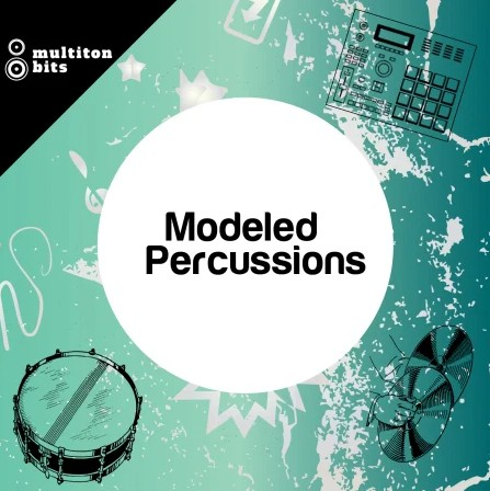 Multiton Bits Modeled Percussions