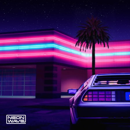 Neon Wave Night Time Nostalgia Retrowave Sounds