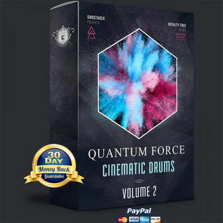 Ghosthack Quantum Force Vol 2 - Cinematic Drums