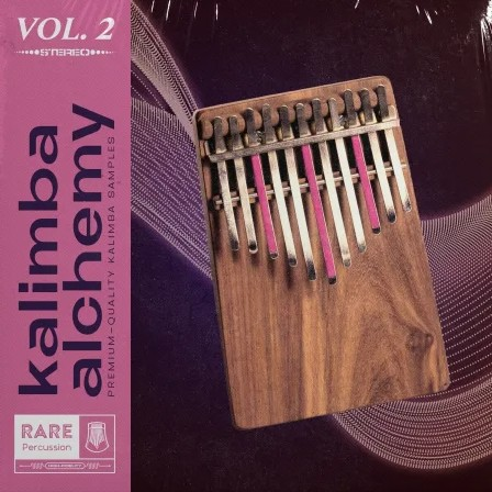 RARE Percussion Kalimba Alchemy Volume 2