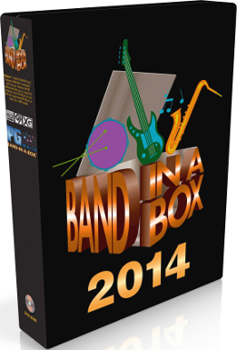 Band in a Box for Windows 2016