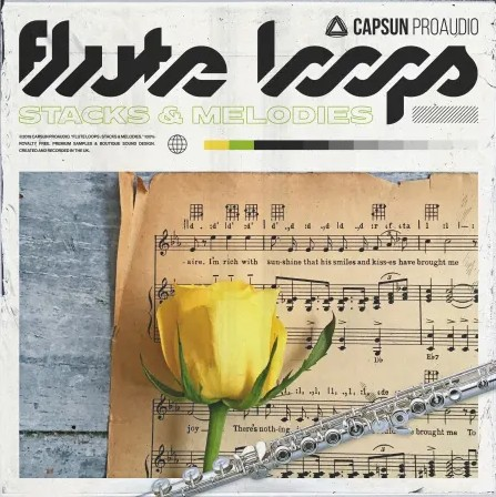 Capsun ProAudio Flute Loops Stacks And Melodies