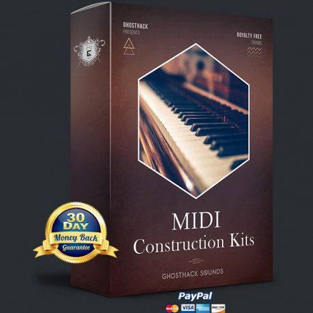 Ghosthack Sounds MIDI Construction Kits Volume 1 - 2