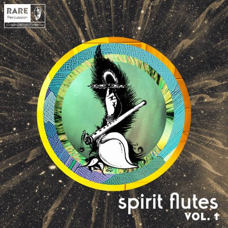 RARE Percussion Spirit Flutes Vol. 1