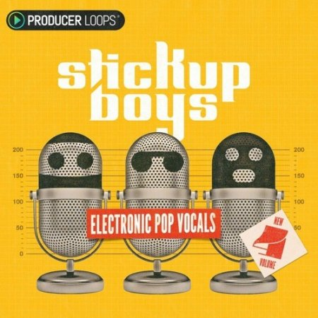 Producer Loops Stick Up Boys Electronic Pop Vocals Volume 4