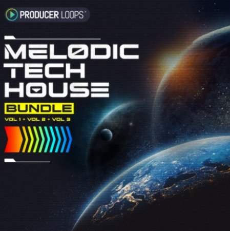 Producer Loops Melodic Tech House Bundle (Vols 1-3)